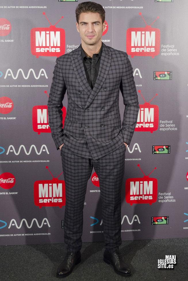 El actor Maxi Iglesias durante los premios MIM series 2016 28/11/2016